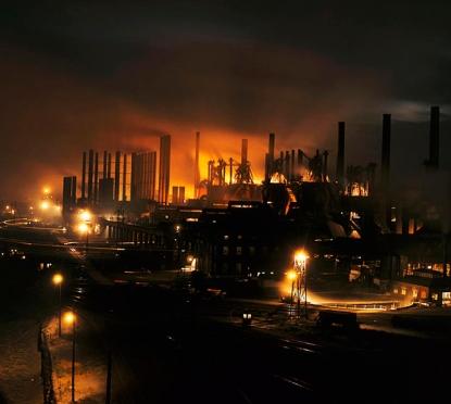 lead steel factory