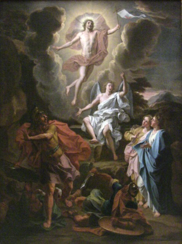 "Noel Coypel, ""The Resurrection of Christ,"" 1700."