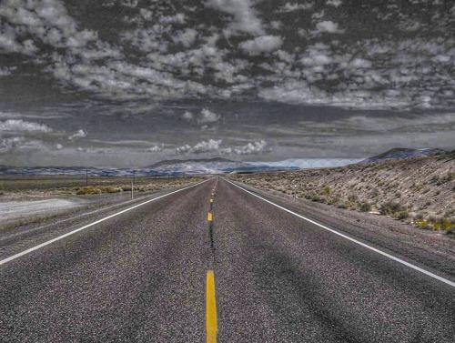 long highway road